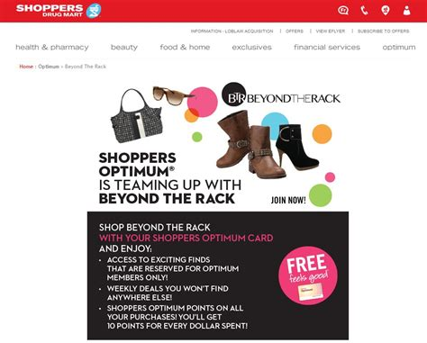 What Is Beyond The Rack by Shoppers Partners With Beyond The Rack 187 Media In Canada