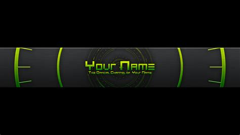 What Is A Youtube Banner Template Banner Template