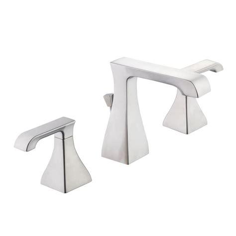 Glacier Bay Bathroom Fixtures Glacier Bay Widespread 2 Handle High Arc Bathroom Faucet
