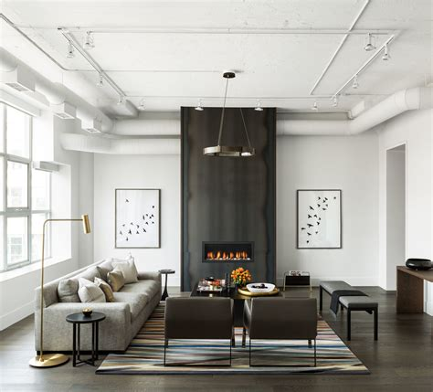 modern industrial interior design toronto merchandise warehouse converted to modern day