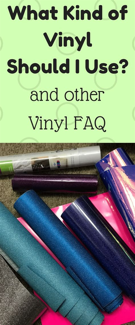 Which Cricut Grip Do You Use With Vinyl - what vinyl to use for craft projects and other faqs