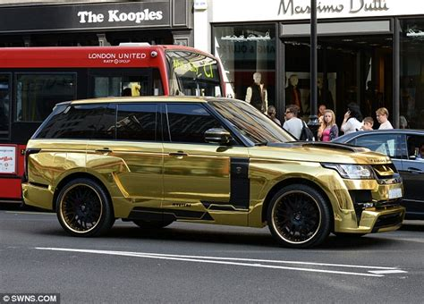 black and gold range rover london sees super rich arabs flock here for an of