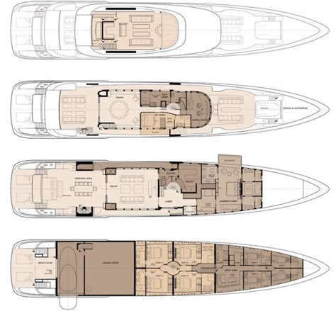 yacht floor plans new 50m long range displacement yacht design by acico