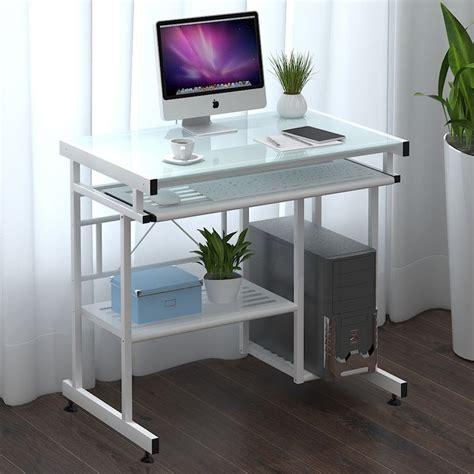 minimalist desktop table brain desk desktop home computer minimalist glass easy