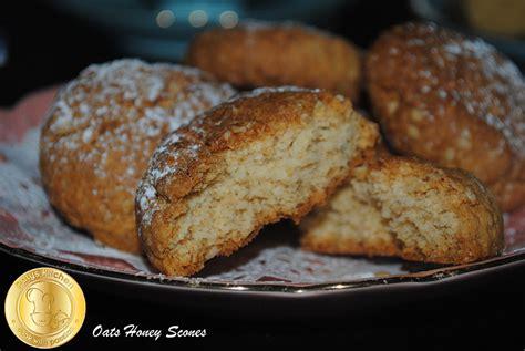 patyskitchen honey oats scones