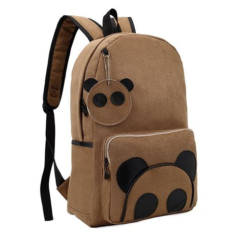Backpack Panda fashion school backpacks panda backpack new