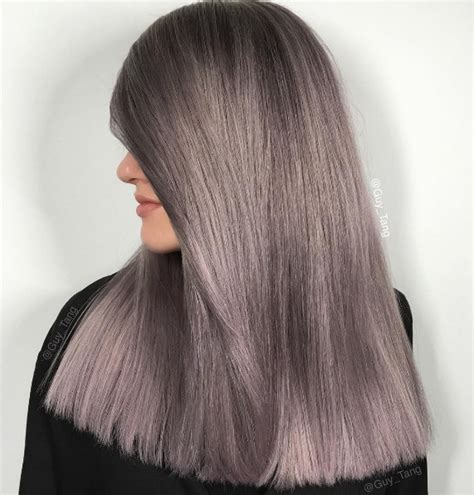 smoky lilac hair color ideas best hair color trends 2017 top hair color ideas for you