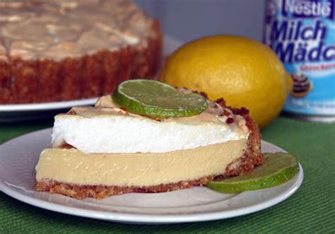 baiserhaube für kuchen key lime pie limettenkuchen usa kulinarisch