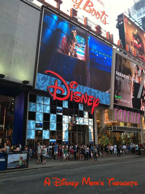 a disney s thoughts nyc times square disney store