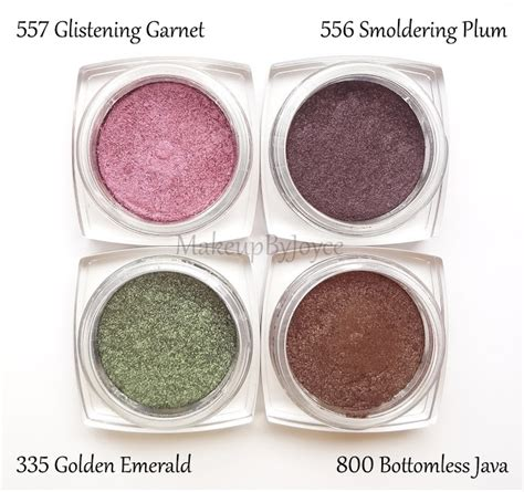 L Oreal Infallible Eyeshadow makeupbyjoyce swatches comparison l oreal infallible 24 hr eyeshadows part 2