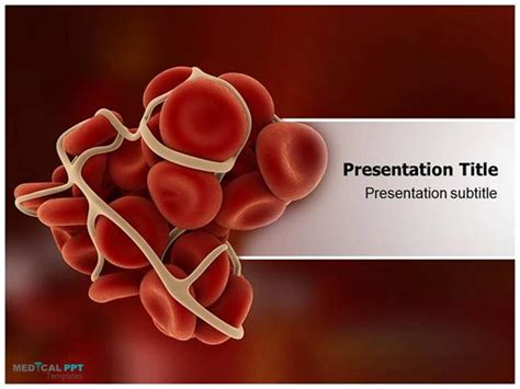 ppt templates free download blood clotting cascade powerpoint templates authorstream