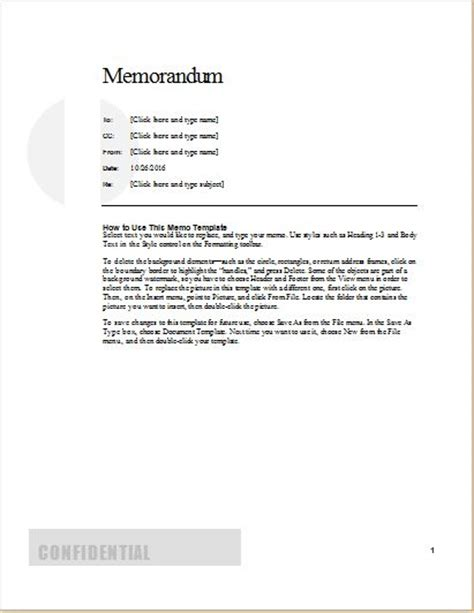 formal memo template 24 free editable memo templates for ms word word excel