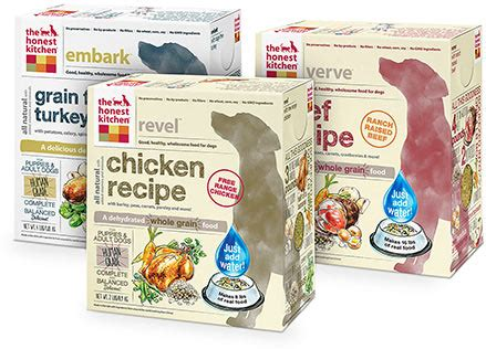 Honest Kitchen Food by The Honest Kitchen Grain Free Chicken Recipe Dehydrated