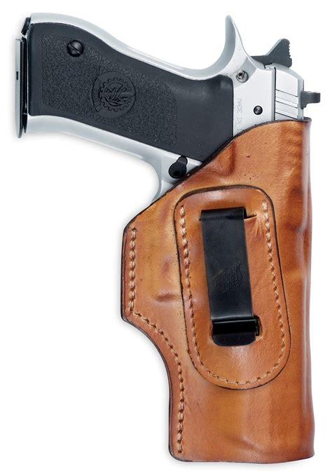 Glock Gun Clip Brown iwb clip leather holster iwb holsters gun holster