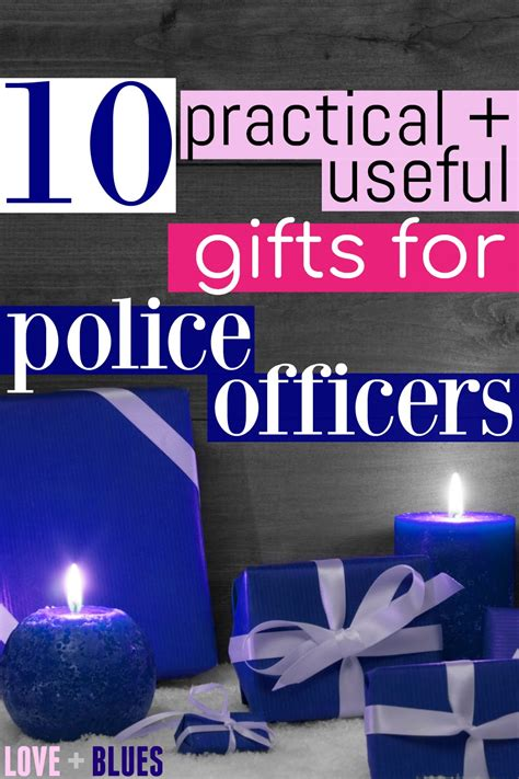 10 gifts for police officers that will actually get used