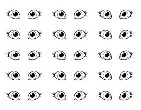 eye coloring page free coloring pages of child