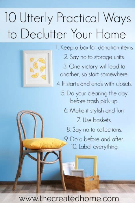 how to declutter your home potentash
