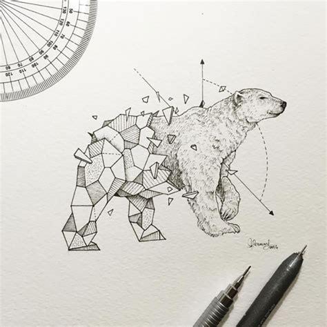 geometric tattoo manila geometric beasts