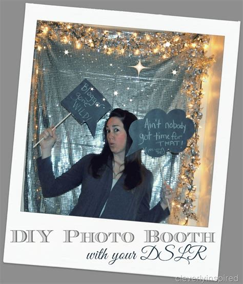 building a photo booth diy photo booth using dslr camera