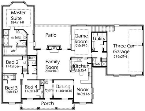 House Plans By Korel Home Designs Right Size Sq Footage Korel House Plans