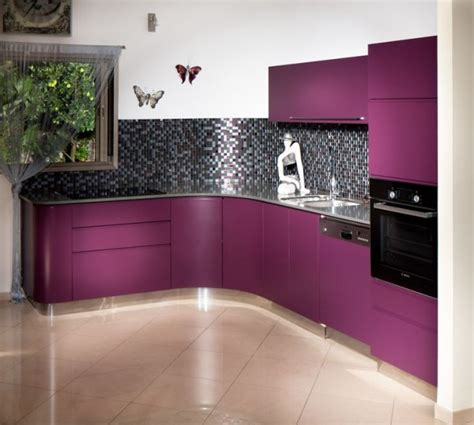 purple kitchens purple utensils to complete a luxurious purple kitchen