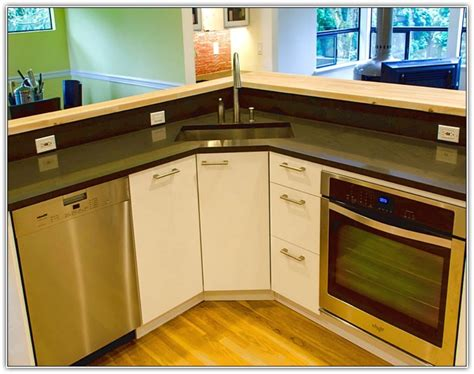 corner kitchen sink cabinet remodel corner sink cabinet the homy design