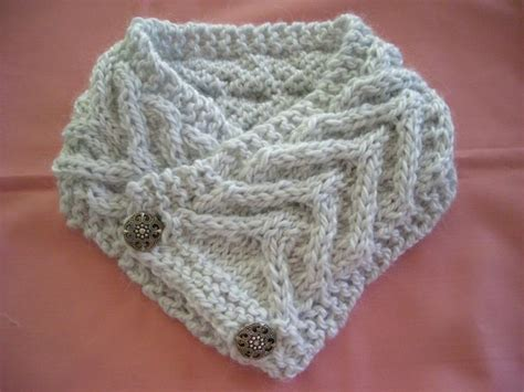 knitted cowl with buttons pattern button cowl knitting projects