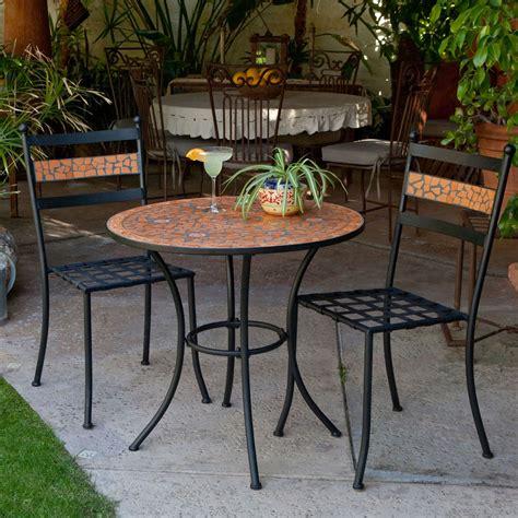 Bistro Patio Set 100 by 100 Furniture Black Iron Bistro Sets Furniture