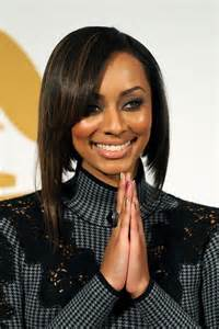 what type of hair does hilson keri hilson inverted bob haircut for straight hair