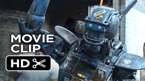 film robot gangster chappie movie clip real gangster 2015 hugh jackman