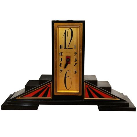 deco table clock 1035 best timekeeper antique clocks images on