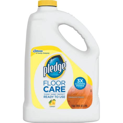 pledge floorcare hardwood cleaner by pledge at mills fleet