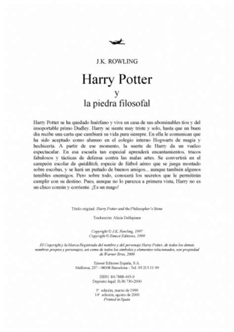 harry potter y la piedra filosofal pdf online documento harry potter y la piedra filosofal pdf grupos emagister com