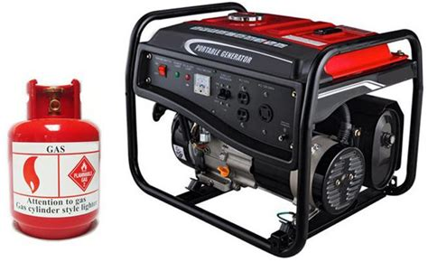 small power residential gas generators for home