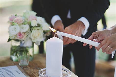sulla luce delle candele il rito della luce nozze vip card