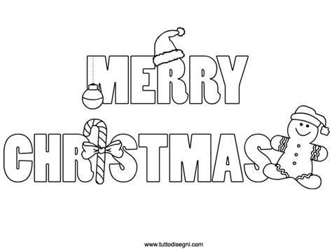 merry and happy new year testo merry scritta da colorare tuttodisegni