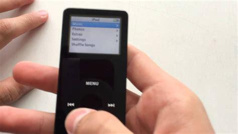 Ipod Nano 1st Gen 1gb Black Youtube