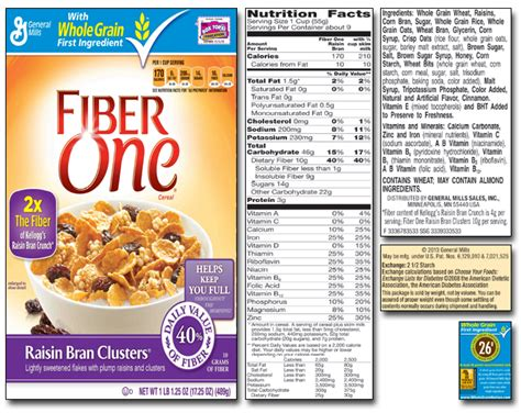 9 whole grains on food labels the usda in bed with breakfast cereal health hacking