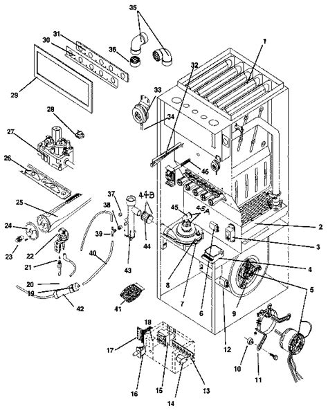 comfort maker parts icp replacement parts list pictures to pin on pinterest