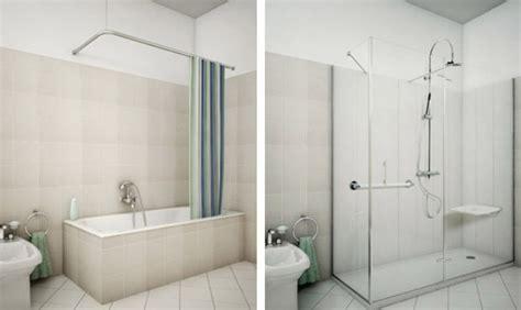 vasche da bagno con cabina doccia sostituire la vasca da bagno con il box doccia grazie a