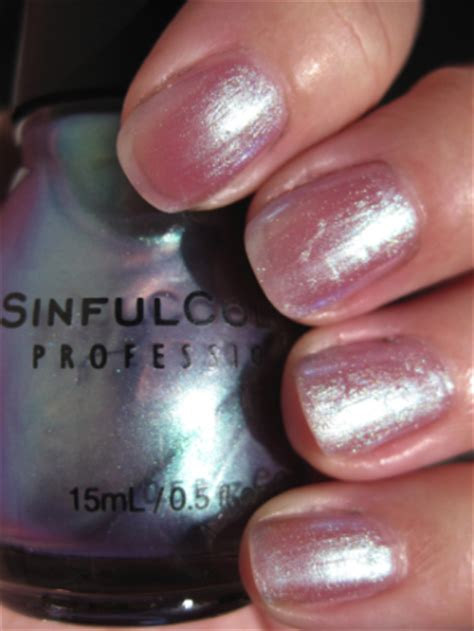 sinful colors let me go sinful colors 2009 collection swatches and