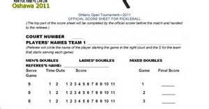 referee training manual sample score sheet for ontario