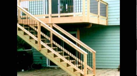 deck stair railing deck stair handrail outdoor design