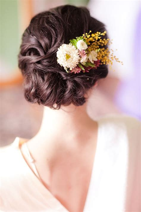 Wedding Hair Accessories Fresh Flowers by 38 Gorgeous Wedding Hairstyles With Fresh Flowers