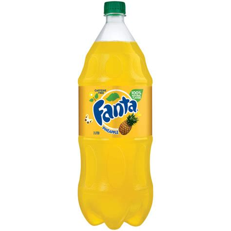 Soda L by Fanta Pineapple Soda 2 L Walmart