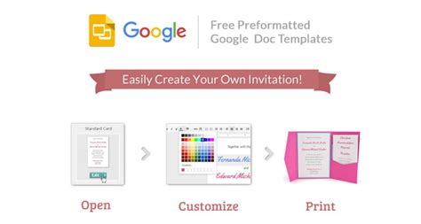 invitation template docs images invitation sle
