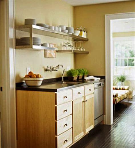 Kabinet Hiasan contoh hiasan dapur kecil yang cantik dan unik rumah