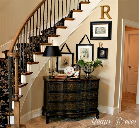entryway foyer ideas entry foyer design with buddha beaux r eves entry vignette for a curved wall for the