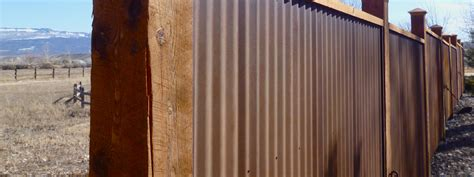 metal fence fencing fort collins co outrigger landscaping