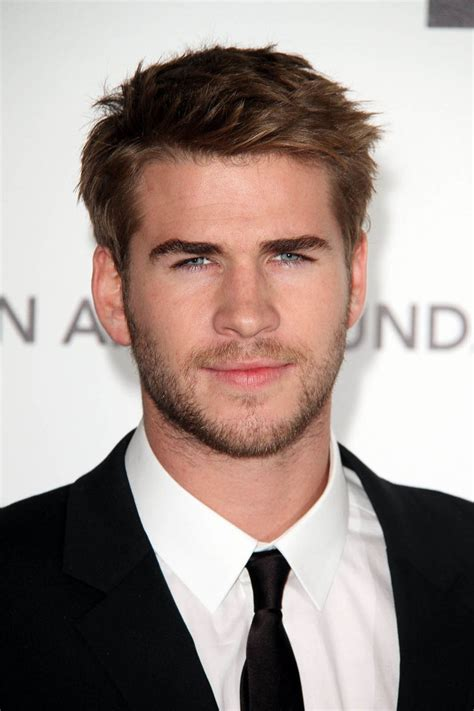 Liam Hemsworth Hair Style   Celebrity Hairstyles